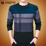 Diskon Besarpria Musim Dingin Setengah Baya Yard Besar Ayah Sweater Musim Dingin Sweater Biru Baju Atasan Sweter Pria