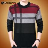 Toko Pria Musim Dingin Setengah Baya Yard Besar Ayah Sweater Musim Dingin Sweater Merah Termurah Tiongkok