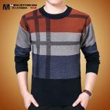 Beli Pria Musim Dingin Setengah Baya Yard Besar Ayah Sweater Musim Dingin Sweater Oranye Baju Atasan Sweter Pria Online