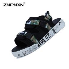 Znpnxn Pria's Sepatu Kasual Modis Sandal Trendi Sandal Fashion Sandal Pria Sepatu Pantai Sepatu Kasual Dalam dan Luar Ruangan Sepatu (Gambar Warna)