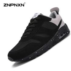Harga Pria S Sepatu Rekreasi Olahraga Sepatu Kenyamanan Fashion Men S Shoes Antiskid Ultra Tahan Lama Tebal Bawah Sport Air Sepatu Cushion Hitam Abu Abu Intl Terbaru