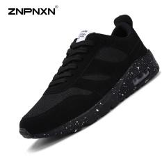 Toko Pria S Sepatu Rekreasi Olahraga Sepatu Kenyamanan Fashion Men S Shoes Antiskid Ultra Tahan Lama Tebal Bawah Sport Air Sepatu Cushion Hitam Intl Znpnxn Di Tiongkok