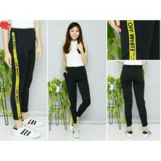 Spek Princess Wardrobe Celana Panjang Wanita Off White Pants