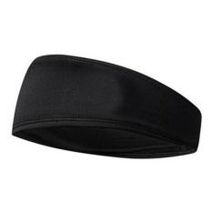 Print Wide Stretch Hair Band Wanita Gadis Elastis Serban Olahraga Yoga Headband Warna: Hitam Spesifikasi