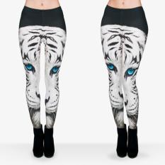 Review Printed Legging Pants Zumba Pants Yoga Pants Sport Pants White Tiger Di Dki Jakarta