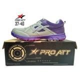 Toko Pro Att Lg 456 Sepatu Olahraga Sepatu Lari Warna Abu Ungu Pro Att Indonesia