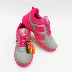 PRO ATT Original - LG458 - Pink Grey - Blue Grey - Green Grey - Purple Grey  - Sepatu Olahraga Wanita - Sepatu Lari Wanita