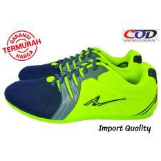 PRO ATT Sepatu FUTSAL Branded Pria dan Wanita - Green / Hijau  Awet dan Berqualitas