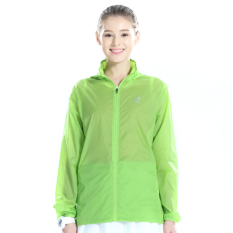 Menyelidiki Ekstensi Luar Rumah Perempuan Jaket Angin Musim Semi Atasan Ruangan AC Baju Pelindung Matahari (Lampu Hijau Perempuan)