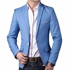 Produsen Jas - Blazer Pria Gaya Bisnis - Slimfit Blue
