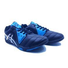 Sepatu Olahraga Futsal Pria Professional Panzer - Black Turkis White