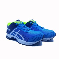 Sepatu Olahraga Running Pria Runner - Turkis White Navy 0936ab0338