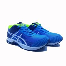 Sepatu Olahraga Running Pria Runner - Turkis White Navy 72825c93f4