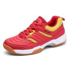 Harga Pria Profesional Bulutangkis Bernapas Sepatu Fashion Anti Selip Tenis Sneakers Intl Di Tiongkok