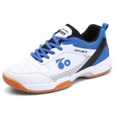 Harga Profesional Pria Bernapas Sepatu Bulu Tangkis Fashion Anti Selip Tenis Sneakers Intl Terbaik