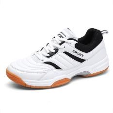 Jual Profesional Pria Bernapas Sepatu Bulu Tangkis Fashion Anti Selip Tenis Sneakers Intl Murah Tiongkok