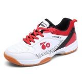 Harga Pria Profesional Bulutangkis Bernapas Sepatu Fashion Anti Selip Tenis Sneakers Intl Asli