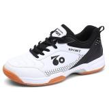 Harga Profesional Pria Bernapas Sepatu Bulu Tangkis Fashion Anti Selip Tenis Sneakers Intl Asli Oem