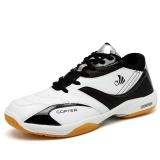 Spesifikasi Profesional Pria Bernapas Sepatu Bulu Tangkis Fashion Anti Selip Tenis Sneakers Sepatu Olahraga Intl Paling Bagus