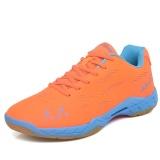 Spesifikasi Profesional Pria Bernapas Sepatu Bulu Tangkis Fashion Pasangan Anti Skid Sneakers Plus Ukuran 36 45 Intl Bagus