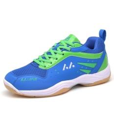 Harga Profesional Pria Bernapas Sepatu Bulu Tangkis Fashion Pasangan Anti Skid Sneakers Plus Ukuran 36 45 Intl Asli
