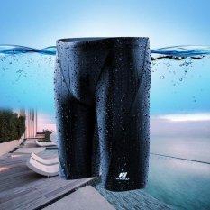 Pria Profesional Tahan Air Cepat-pengeringan Berenang Celana (Navy)-Intl
