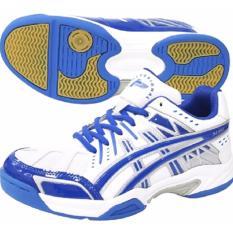 Harga Hemat Professional Sabre Sepatu Volley R Blue White Silver