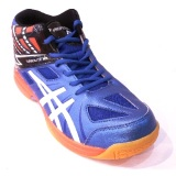 Spesifikasi Professional Turbolite Md Volleyball Shoes Sepatu Bola Voli Blue Black Orange Terbaik