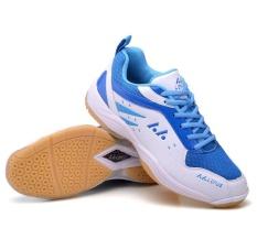 Jual Profesional Wanita Bernapas Sepatu Bulu Tangkis Fashion Pasangan Anti Skid Sneakers Plus Ukuran 36 45 Intl Branded Murah