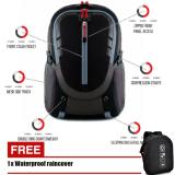 Review Toko Progess Tas Ransel Qutdoor Parasut 1989 18 Inchi Black Grey Raincover Online