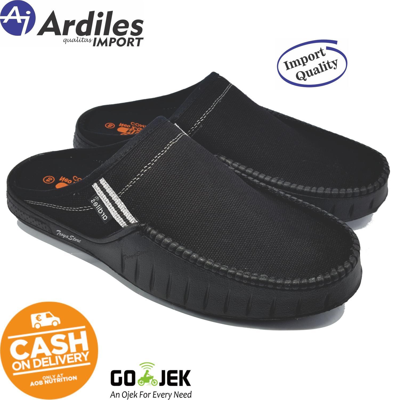 Sepatu Karet Pantofel Kerja Anti Air Dan Hujan Hitam Daftar Pria Kedap Promo Ardiles Sandal Slip On Kaulun Import Quaity Jaminan Termurah