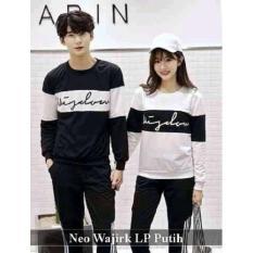 PROMO  Baju Couple - Kaos Pasangan  Online - Neo Wajirk Lp Putih