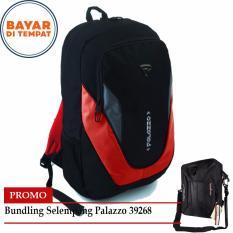 Cuci Gudang Promo Budling Palazzo Tas Ransel 17 Inchi 33800 Black Red Palazzo Tas Selempang 10 Inchi 39268 Black
