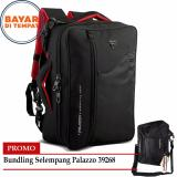 Review Promo Bundling Palazzo Tas Ransel Triple Fungsi 34685 Palazzo Tas Selempang 10 Inchi 39268 Black