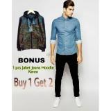 Harga Promo Buy 1 Get 2 Ajoe Celana Jeans Pria Hitam Jeans Hitam Pria Polos Strecth Model Skinny Ukuran 27 28 29 30 31 32 Merk Ajoe Clothing