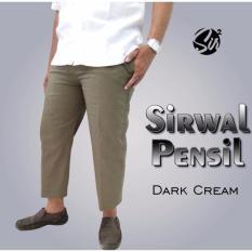 Promo Celana Sirwal Pensil Kantoran Sirwal Modis Murah Dark Cream Dki Jakarta Diskon