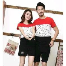 Promo Couple Blouse Abstrack Vektor Termurah