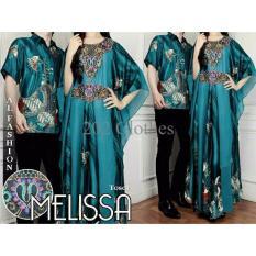 Promo Couple Melissa Tosca Baju Muslim Pasangan Kaftan Sarimbit Batik Melisa Modern