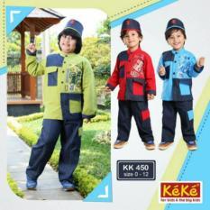 PROMO! DISC. 10%++ Keke Busana KK 450 Koko Anak Branded Murah