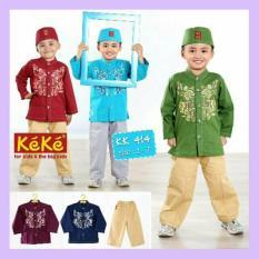 PROMO! DISCOUNT 10%++ Keke Busana KK 414 Koko Anak Lucu Branded Murah