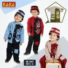 PROMO! DISCOUNT 10%++ Keke Busana KK 447 Koko Anak Branded Murah