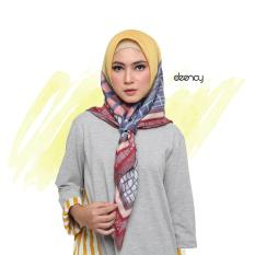 PROMO Hijab Printing / Jilbab Segi Empat Deenay - PERLA Original