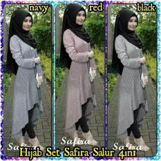 Promo Hijab Safira Salur Set 4In1 Termurah