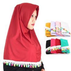 PROMO Jilbab Instan Najwa - Najwa Renda - Hijab Tassel - Kerudung Tassel - Hijab Instan Grosir