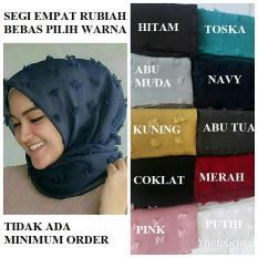 Rp 18.000. PROMO Jilbab square linen ruby rubiah hijab kerudung ...