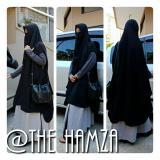 Promo Promo Jilbab Syari Kerudung Khimar Cardigan Bonus Cadar Oem