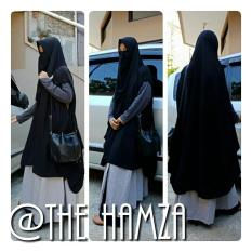 Promo Jilbab Syari Kerudung Khimar Cardigan  Bonus Cadar