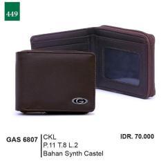 Promo Jual Distro Dompet Kasual Pria - GAS 6807 Murah Terbaik