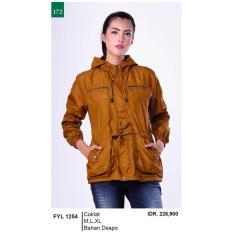 Promo Jual Distro Jaket / Sweater / Hoodies Kasual Wanita - FYL 1254 Murah Terbaik