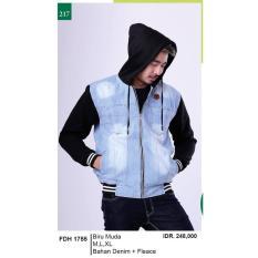Promo Jual Distro Jaket / Sweater / Hoodies Pria - FDH 1755 Murah Terbaik